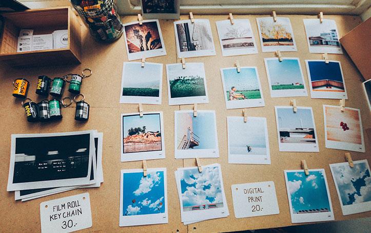 Post billede 4 tips til at skabe Vælg billederne - 4 tips til at skabe et væg-galleri i huset eller haven